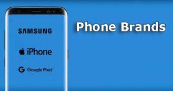 top mobile phone brands