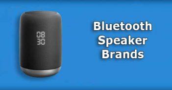 bluetooth speaker brand 2020